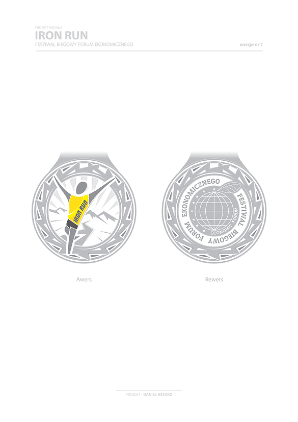 Iron Run - Medal w1